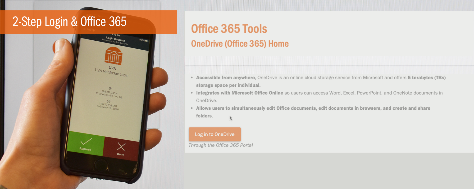2-Step Login and Office 365